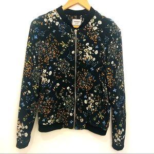 ASOS Pimkie Floral Bomber Jacket